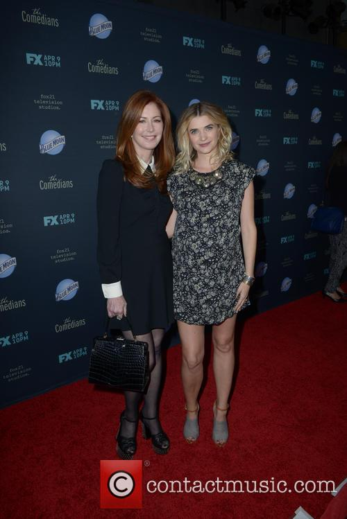 Dana Delany and Megan Ferguson