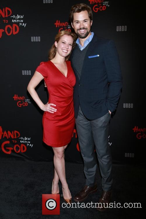 Patti Murin and Andrew Rannells