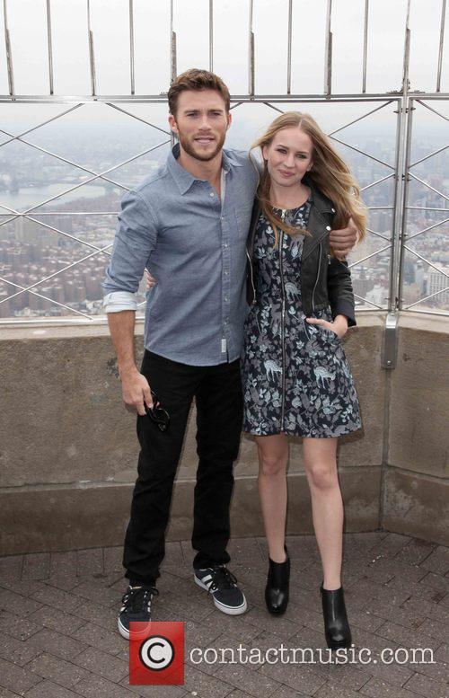 Scott Eastwood and Britt Robertson