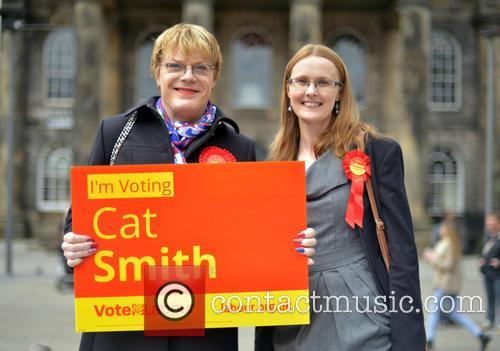 Eddie Izzard and Cat Smith 7
