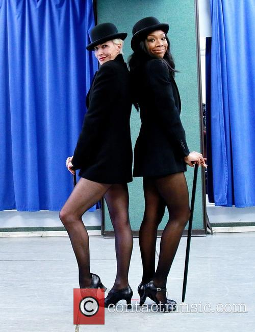 Amra-faye Wright and Brandy Norwood