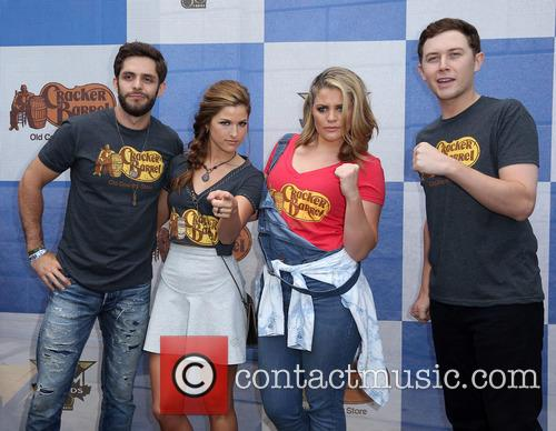 Cassadee Pope, Thomas Rhett, Lauren Alaina and Scotty Mccreery 1