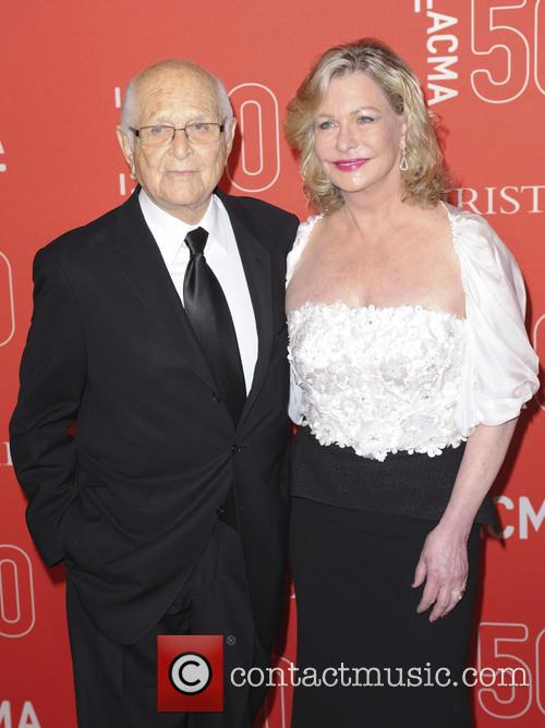 Lyn Lear and Norman Lear 8