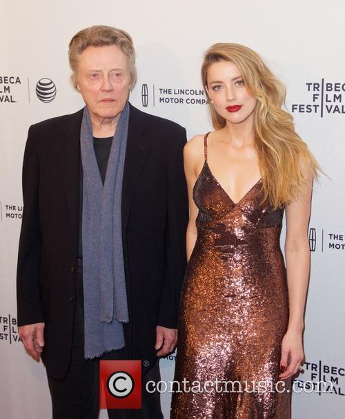 Christopher Walken and Amber Heard