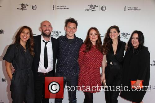 Tess Morris, Ben Palmer, James Biddle, Nira Park, Lake Bell and Rachel Prior