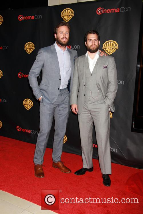 Armie Hammer and Henry Cavill 1