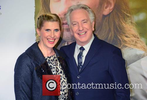 Paula Paul and Alan Rickman