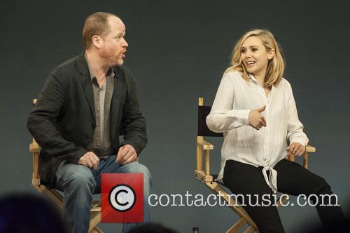 Joss Whedon and Elizabeth Olsen