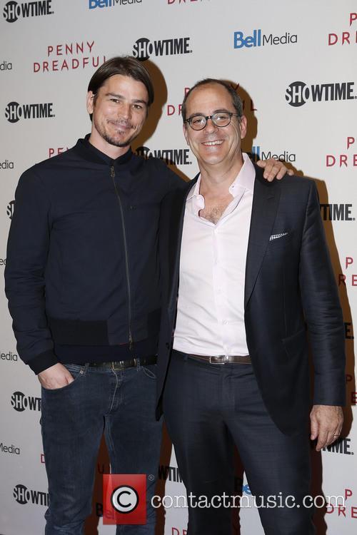 Josh Hartnett and David Nevins