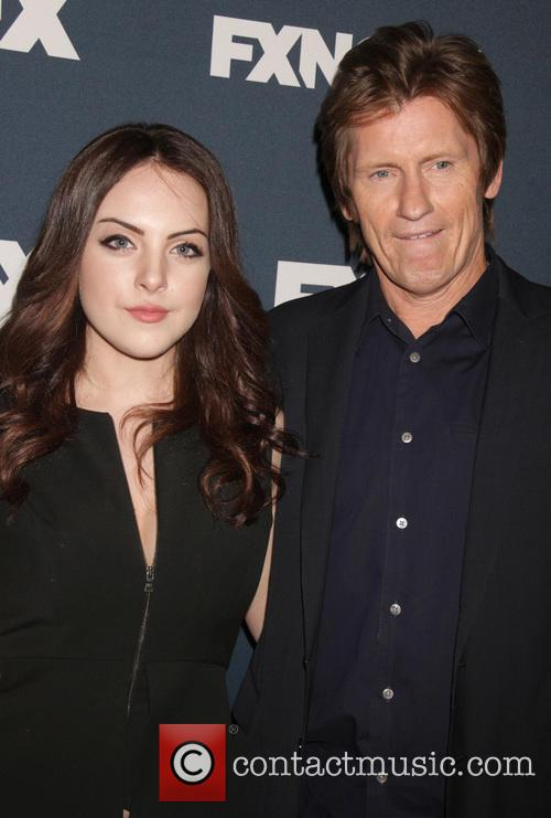 Denis Leary and Liz Gillies 7