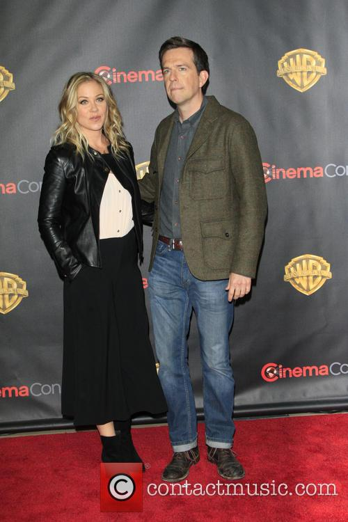 Christina Applegate and Ed Helms