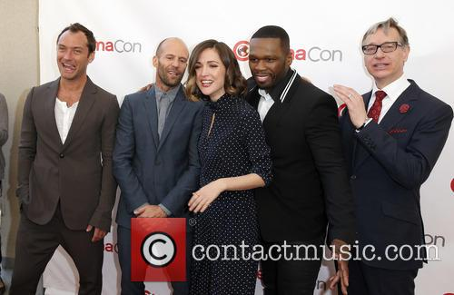 Jude Law, Jason Statham, Rose Byrne, Curtis 50 Cent Jackson and Paul Feig 4