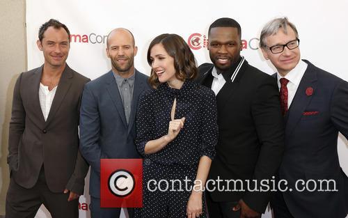 Jude Law, Jason Statham, Rose Byrne, Curtis 50 Cent Jackson and Paul Feig 8