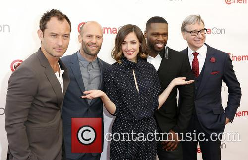Jude Law, Jason Statham, Rose Byrne, Curtis 50 Cent Jackson and Paul Feig