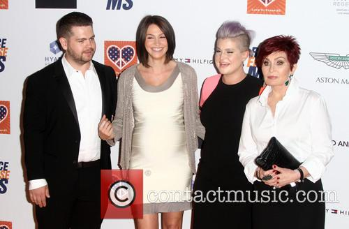 Jack Osbourne, Lisa Stelly, Kelly Osbourne and Sharon Osbourne