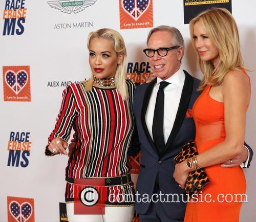 Rita Ora, Tommy Hilfiger and Dee Ocleppo 1