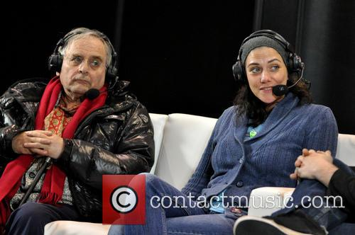 Sylvester Mccoy and Neve Mcintosh 4