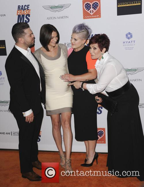 Kelly Osbourne, Sharon Osbourne, Jackson Osbourne and Lisa Stelly