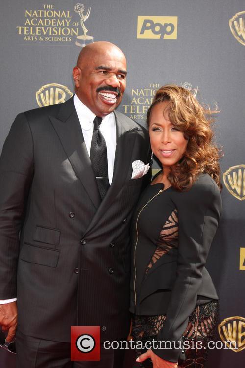 Steve Harvey and Wife 3