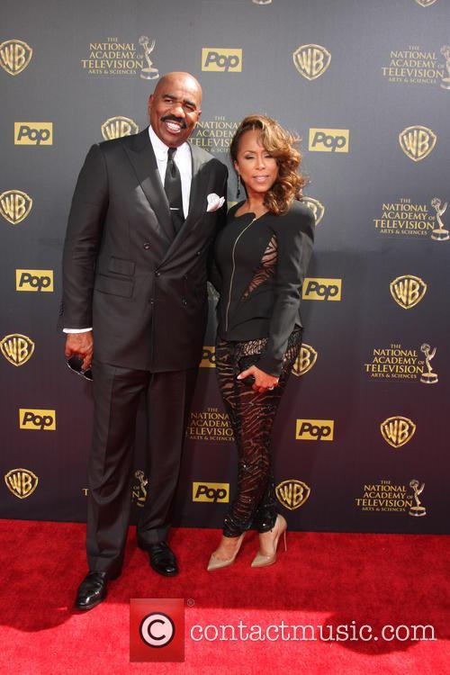 Steve Harvey and Wife 1