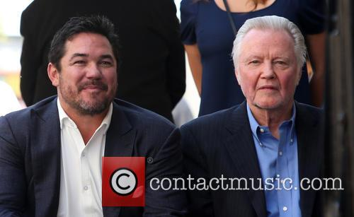 Dean Cain and Jon Voight