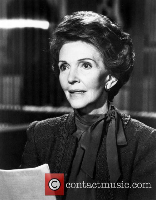 Nancy Reagan and Nancy Davis