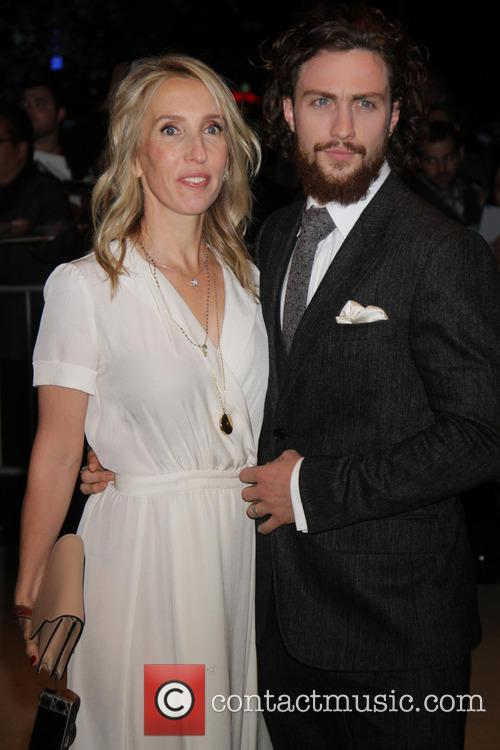 Aaron Taylor-johnson and Wife 6