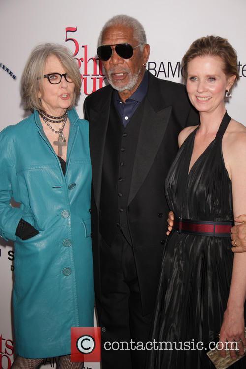 Diane Keaton, Morgan Freeman and Cynthia Nixon
