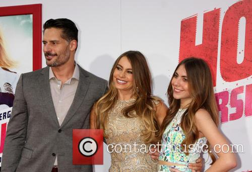 Joe Manganiello, Sofia Vergara and Guest
