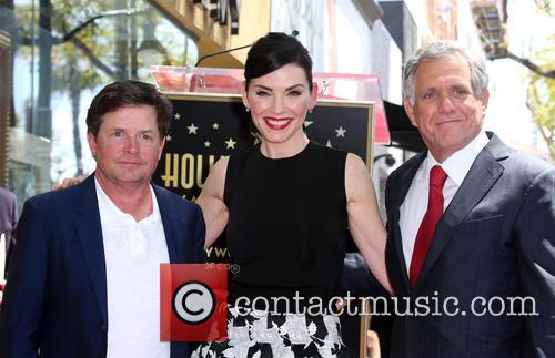 Michael J. Fox, Julianna Margulies and Leslie Moonves 4
