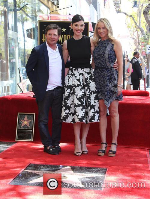 Michael J. Fox, Julianna Margulies and Tracy Pollan 6