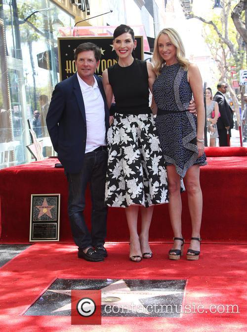 Michael J. Fox, Julianna Margulies and Tracy Pollan 7