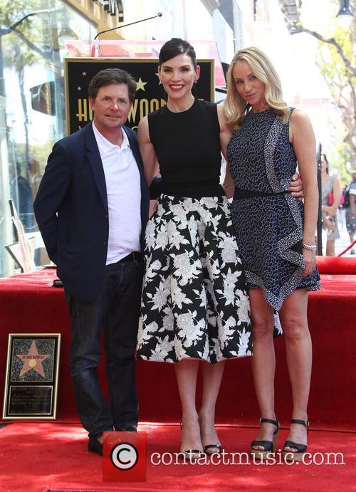 Michael J. Fox, Julianna Margulies and Tracy Pollan 9