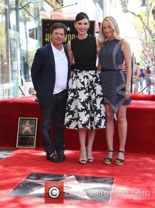 Michael J. Fox, Julianna Margulies and Tracy Pollan 10