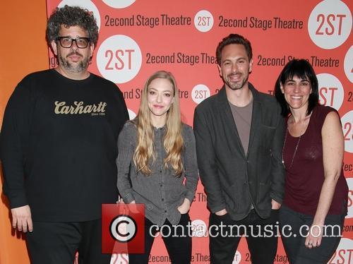 Neil Labute, Amanda Seyfried, Thomas Sadoski and Leigh Silverman
