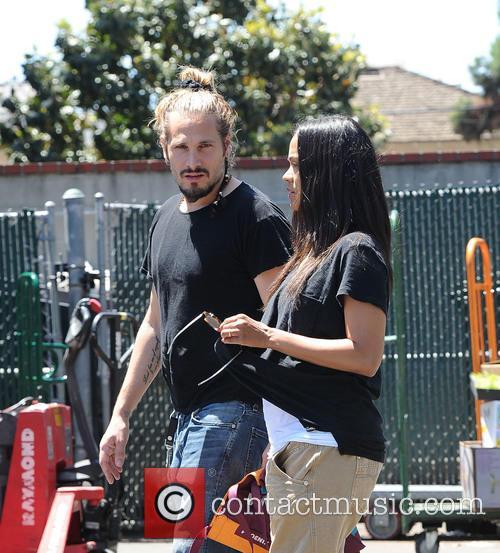 Zoe Saldana and Marco Perego 7