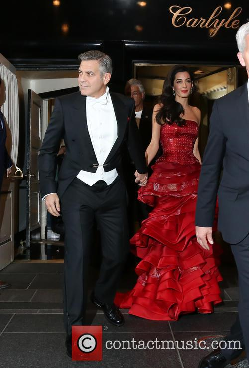 George Clooney, Amal Clooney and Amal Alamuddin