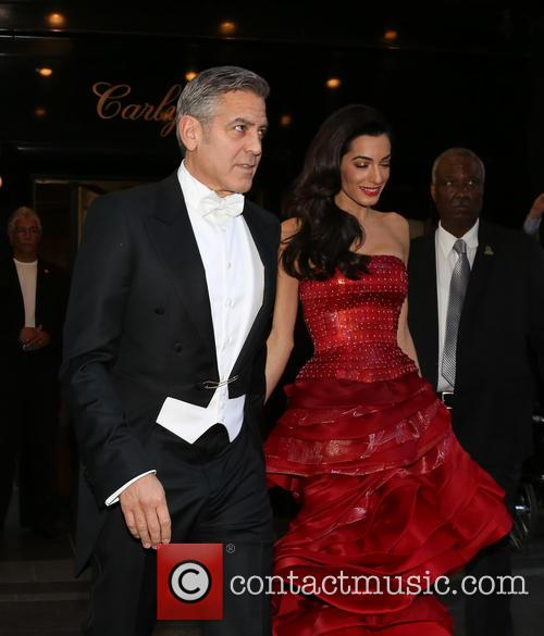 George Clooney, Amal Clooney and Amal Alamuddin 1