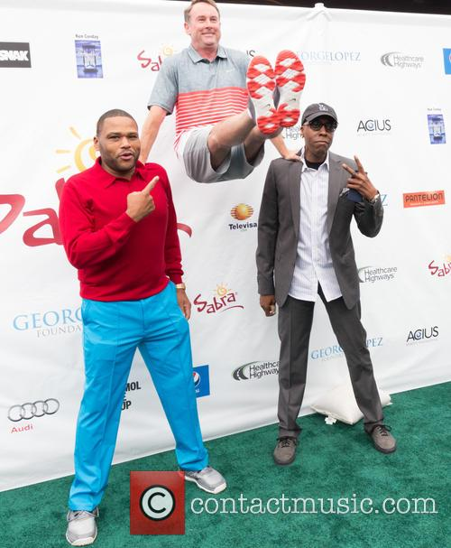 Anthony Anderson, Michael G. Wilson and Arsenio Hall