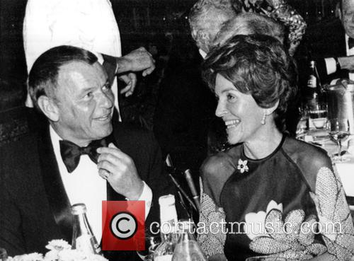 Nancy Reagan, Nancy Davis and Frank Sinatra