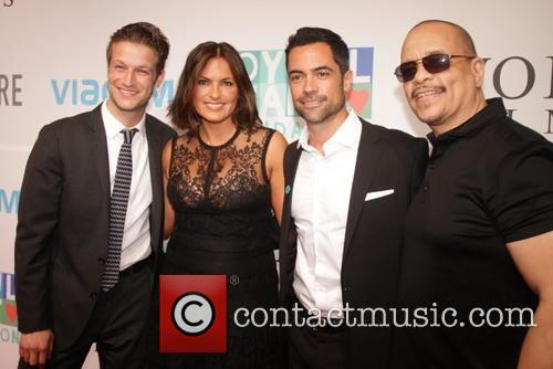 Mariska Hargitay, Peter Scanavino, Danny Pino and Ice T 3