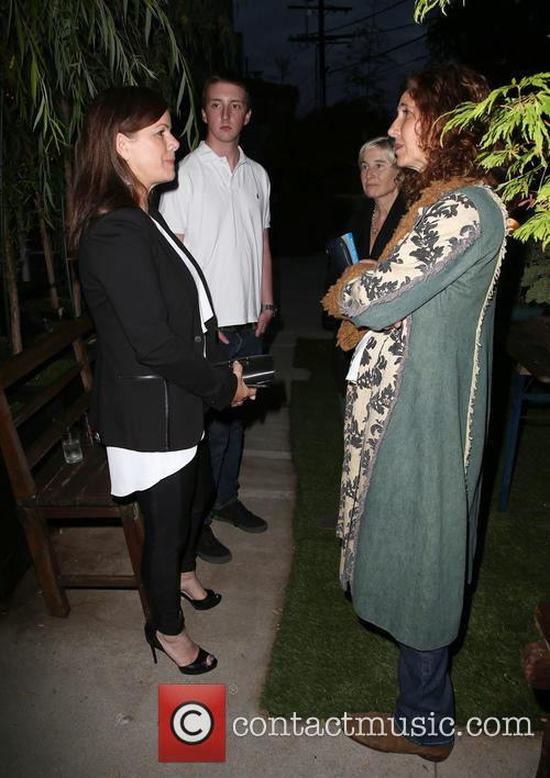 Marcia Gay Harden and Guest