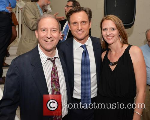 Marc Bookman, Tony Goldwyn and Dana Cook