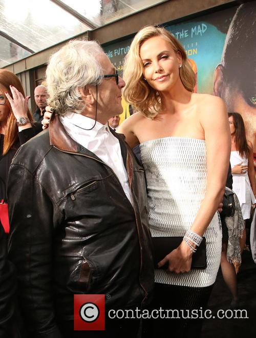 George Miller and Charlize Theron