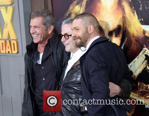 Mel Gibson, Director George Miller and Tom Hardy