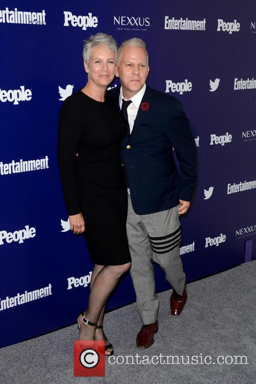 Jamie Lee Curtis and Ryan Murphy