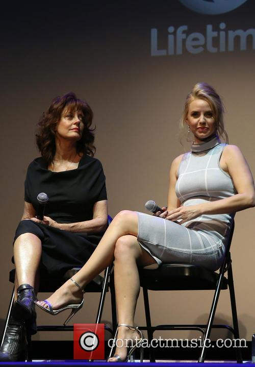 Susan Sarandon and Kelli Garner