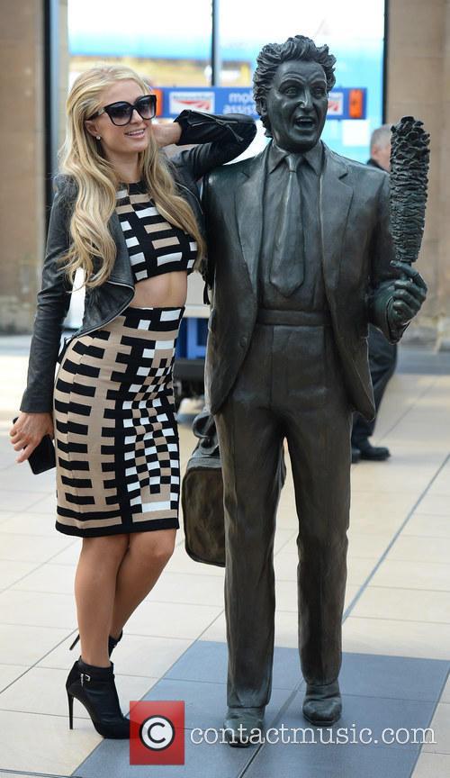 Paris Hilton and Ken Dodd