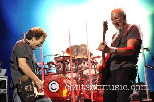 Eddie Vedder and Pete Townshend