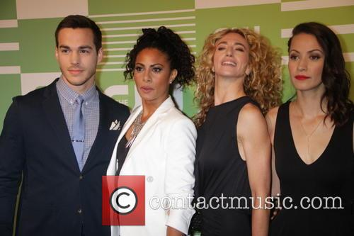 Chris Wood, Christina Moses, Claudia Black and Kristen Gutoskie 5